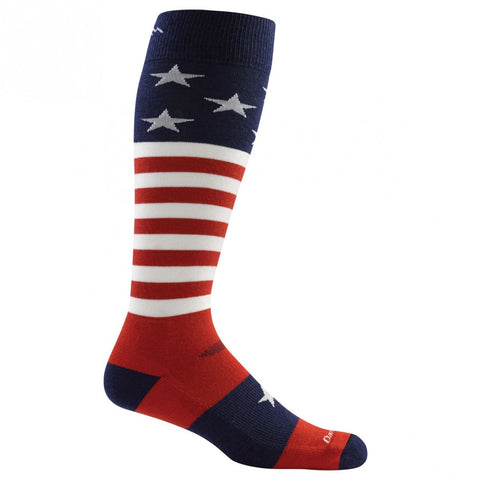 Darn Tough Captain Stripes Jr. Cushion Sock Stars and Stripes