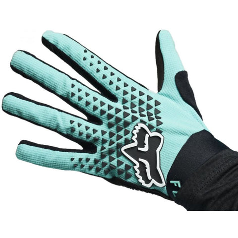 Fox Womens Defend Glove Teal 2021