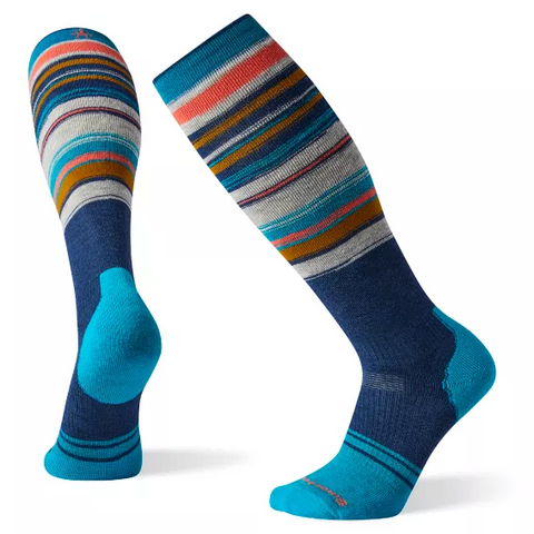 Smartwool  PhD® Snow Medium Socks Alpine Blue