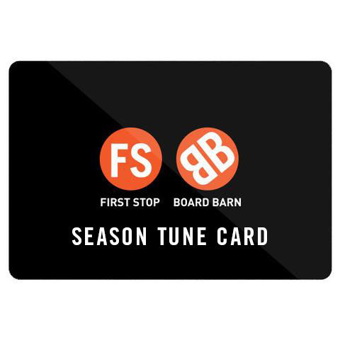 First Stop/Board Barn Season Tune Card