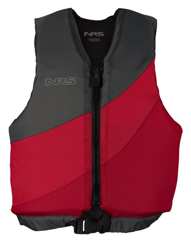 NRS Crew Youth PFD Red