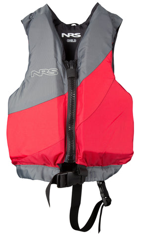 NRS Crew Child PFD Red