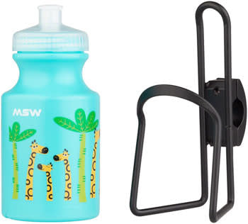 MSW Giraffe Water Bottle and Cage Kit