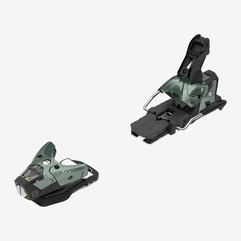 Salomon STH2 WTR 16 Ski Bindings Oil Green 2020