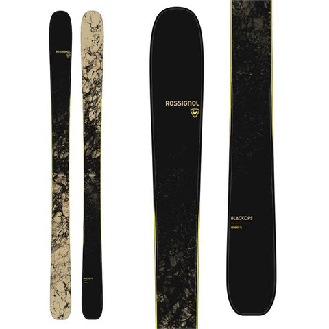 Rossognol Black Ops Sender Ti Skis Flat 2021 Men