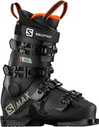 Salomon S/Max 65 Kids Ski Boots Black/Red - 2021