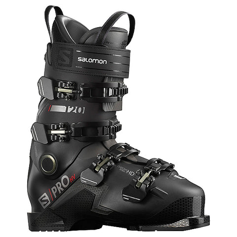 Salomon S/Pro HV 120 Ski Boots Black/Red - 2021