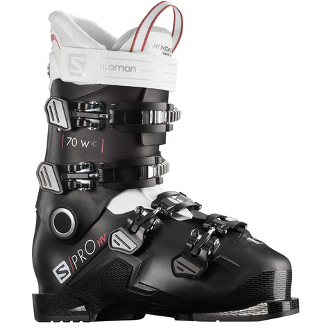Salomon S/Pro HV 70 W Ski Boots Black/White - 2021