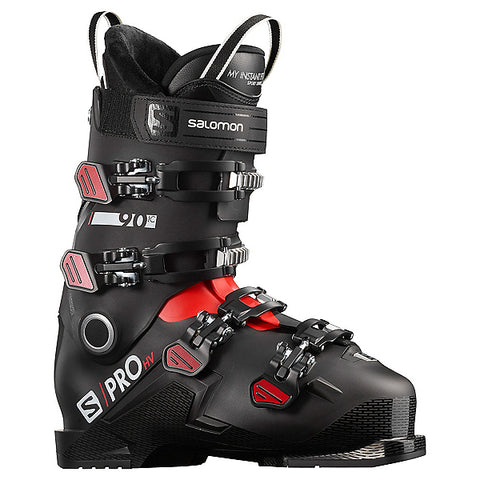 Salomon S/Pro HV 90 Ski Boot Black/Red- 2021
