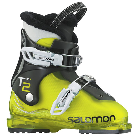 Salomon T2 RT Boot Kids Acid Green/Black 2018
