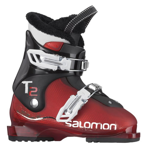 Salomon T2 Junior Ski Boots Red