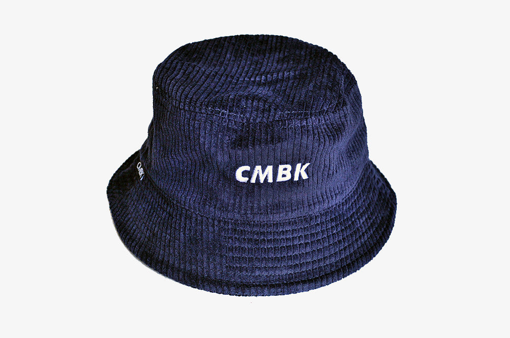 CMBK Navy Corduroy Bucket Hat