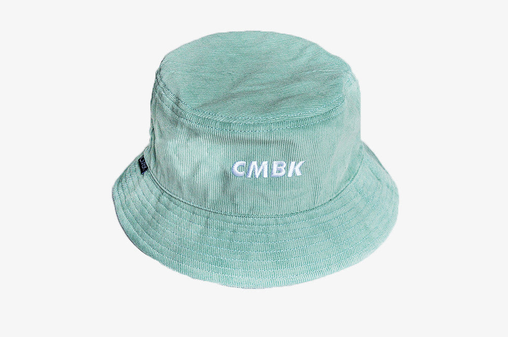 CMBK Mint Green Corduroy Bucket Hat