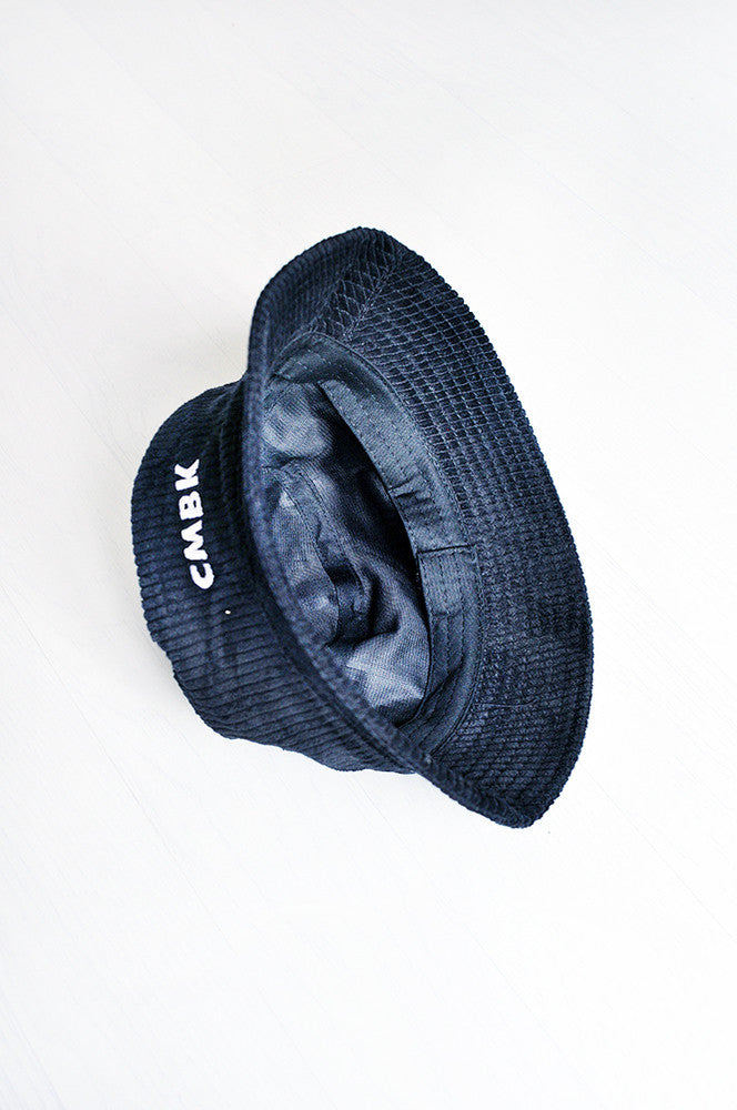 CMBK Black Corduroy Bucket Hat