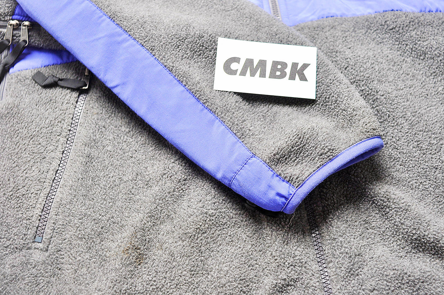 Supreme x North Face 2008 Denali Purple/Grey Fleece Jacket
