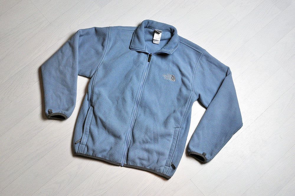 Vintage The North Face Powder Blue Fleece Jacket