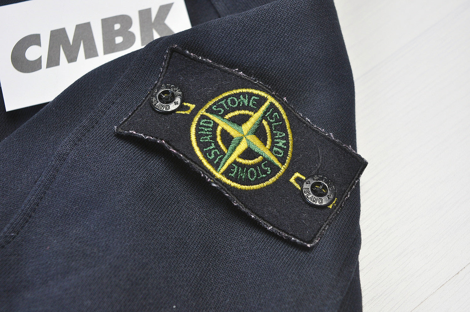 Stone Island Dark Navy Raglan Shadow Bomber Jacket
