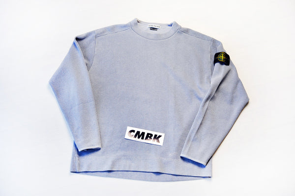 Vintage Stone Island Powder Blue Knit Jumper/Sweater