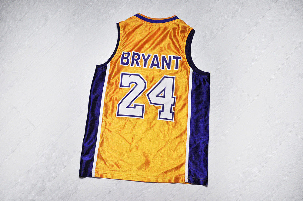Vintage Lakers Kobe Bryant NBA Basketball Jersey Top