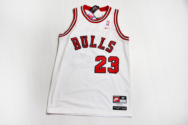 Vintage Nike Original Chicago Bulls 'Michael Jordan 23' White/Red Jersey