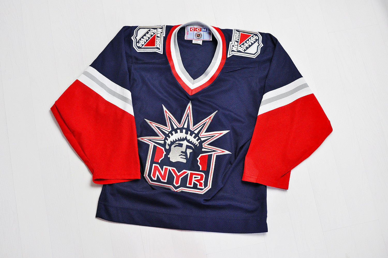 Vintage New York Rangers Ice Hockey Jersey
