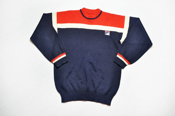 Vintage FILA Wool Knit Jumper Sweater
