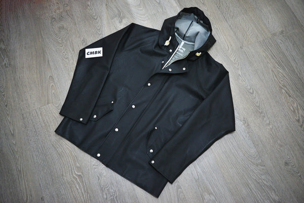 Norse Projects x Elka Black Rain Mac Jacket