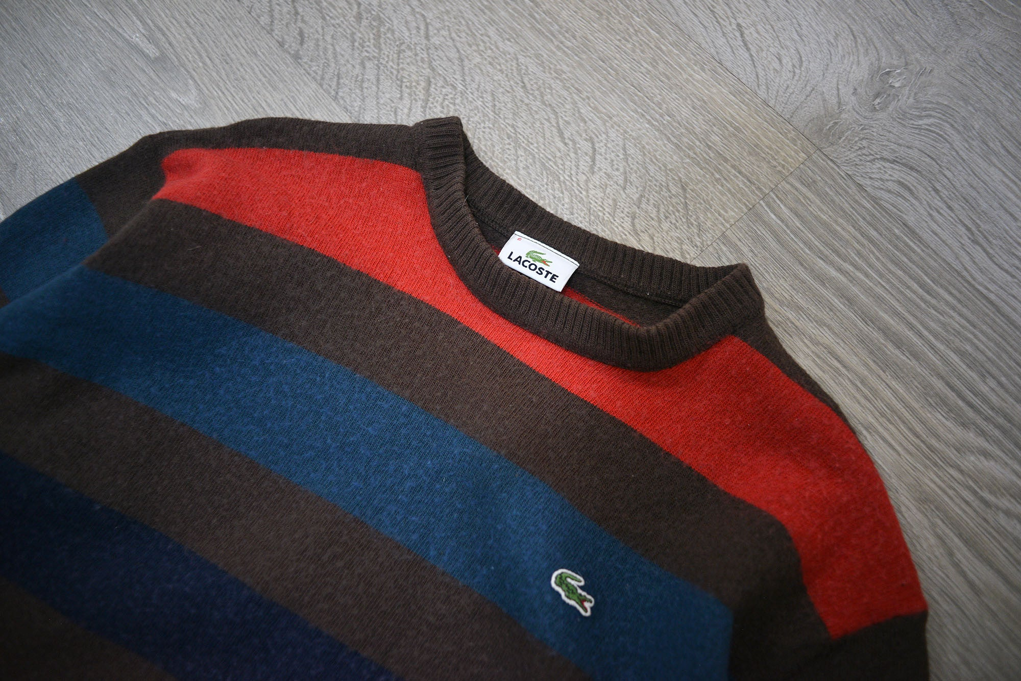 Vintage Lacoste Striped Sweater/Jumper