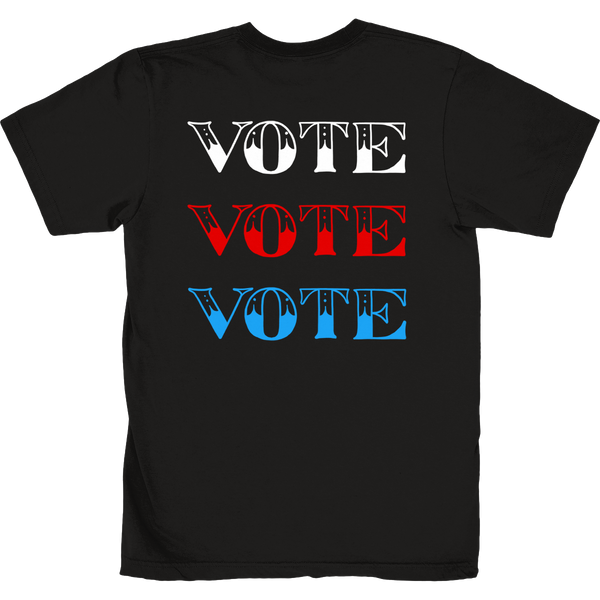 FOF X VOTE BLACK TEE