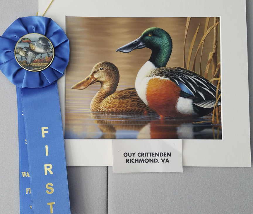 Guy Crittenden wins 2017 Michigan Duck Stamp competition