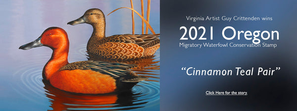 Crittenden wins 2021 Oregon Duck Stamp Competition
