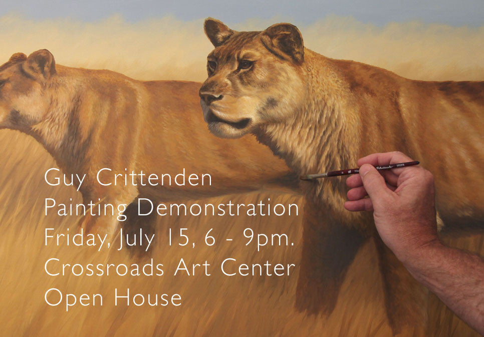 Guy Crittenden Painting Demonstration