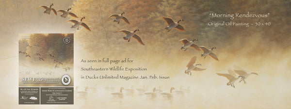 Guy's Painting featured in Ducks Unlimited National Magazine