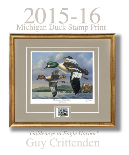 """2015 Michigan Duck Stamp Print"""