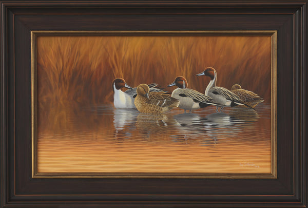 """End of the Day"" - Pintails - SOLD"