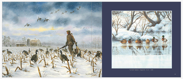 """Waterfowl"" -  The Art of Guy Crittenden  •  The Book  •  60 Full Color Paintings"