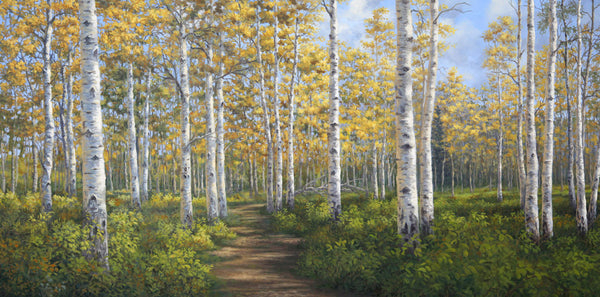 """A Walk in the Aspens""  -  SOLD"
