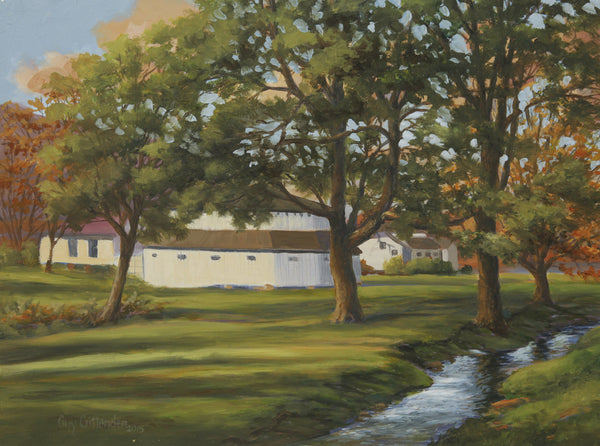 """Warm Springs Bath House"" - SOLD"