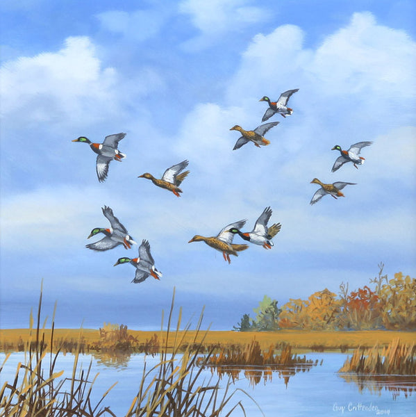 """Big Marsh Mallards"" - SOLD"