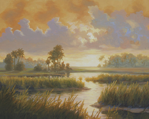 """Carolina Sunrise""  -  SOLD"