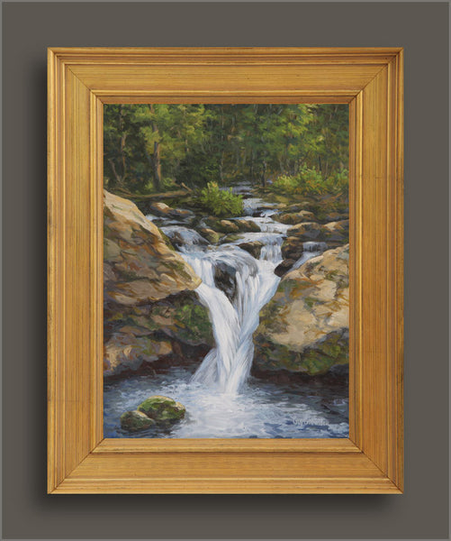 """Cascades Gorge""  -  SOLD"