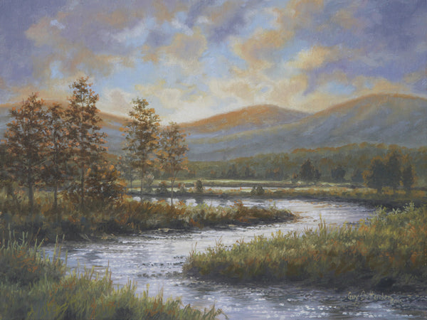 """Dancing Light"" - Upper Jackson River  -  SOLD"