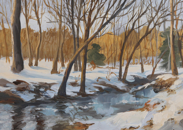 """Fine Creek in Winter"""