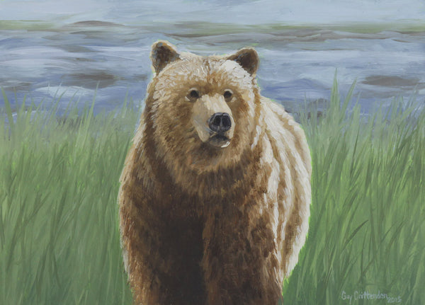 """River Grizzly"" - SOLD"