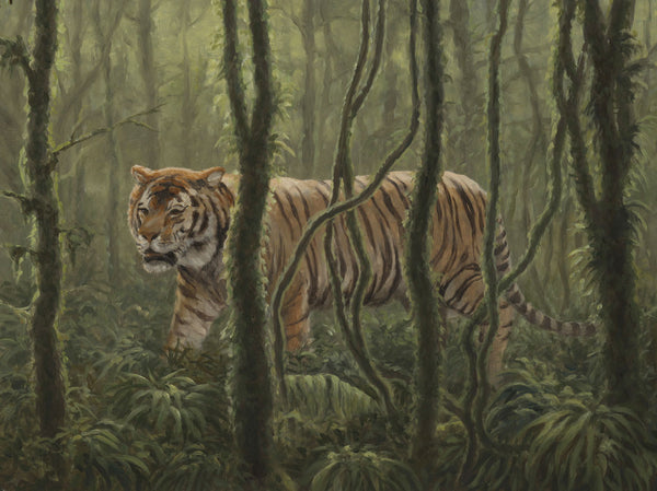 """Jungle Cat"" -  Tiger - SOLD"