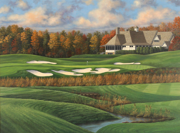 "The 9th Hole - ""Cascades"" - Kinloch Golf Club"
