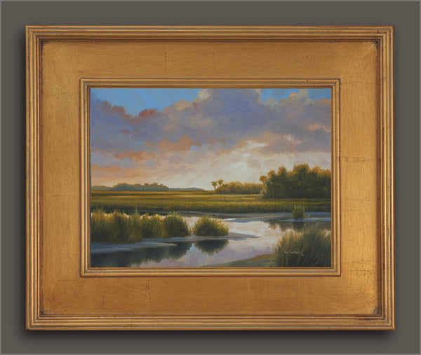 """Low Country Morning"" -  Near Pawley's Island, SC  - SOLD"