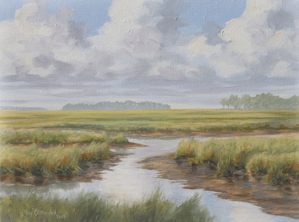 """Low Country Marsh 1""  SOLD"