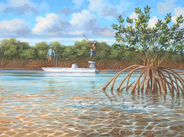 """Mangrove Alley""  -  SOLD"