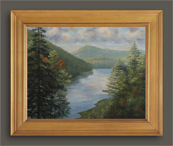 """Camp Merrie Woode""  View from High Heaven  -  SOLD"